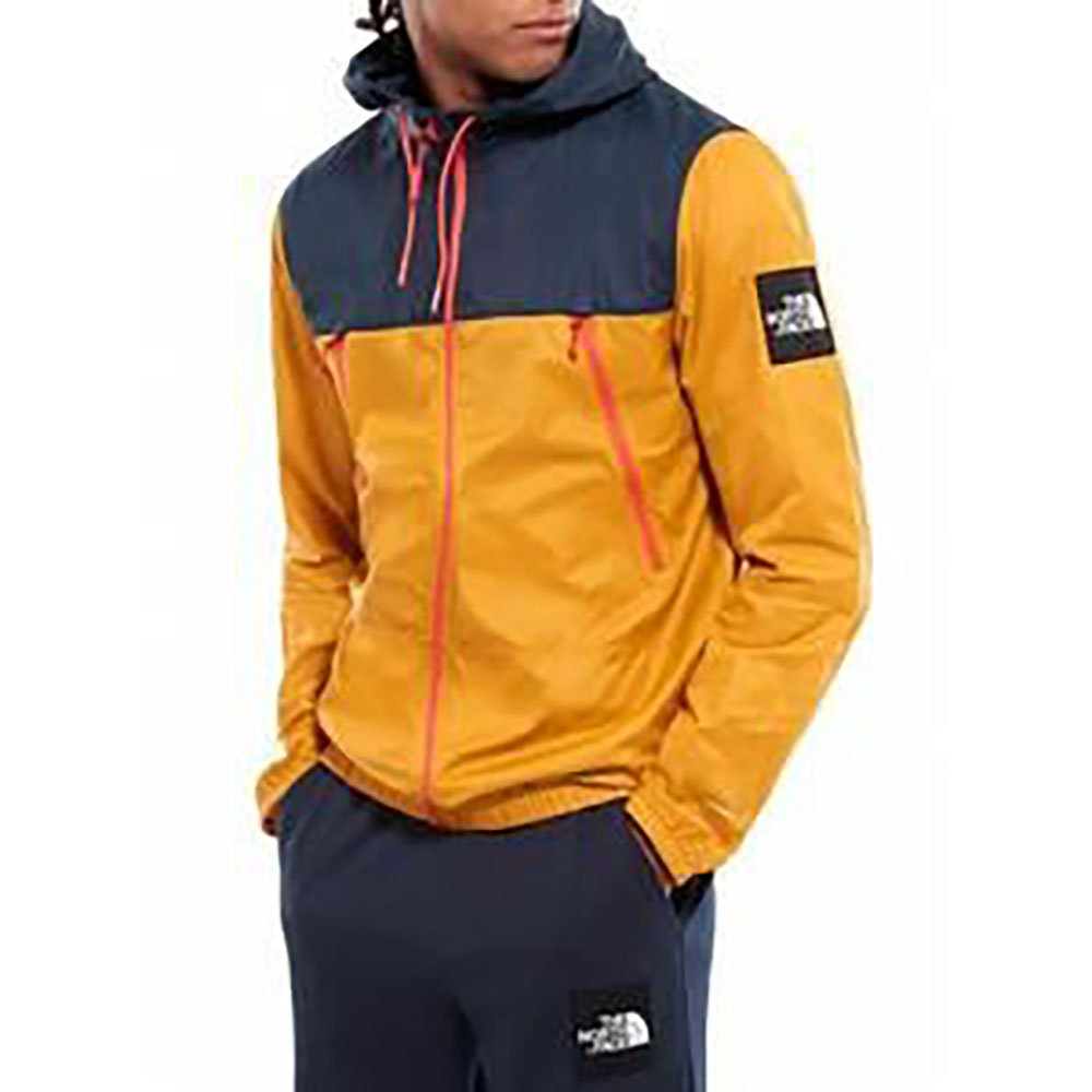 Coupe-vent The North Face - bleu et jaune