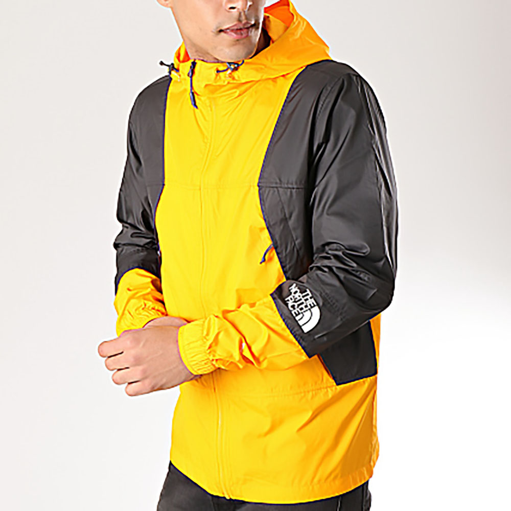 Coupe vent The North Face Mountain - jaune et noir
