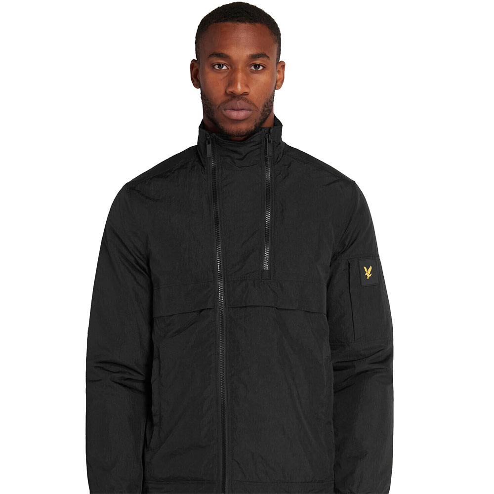 Veste-Lyle-And-Scott-Double-Zip-Noire