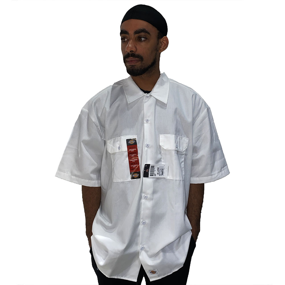Chemise-blanche-dickies-classique