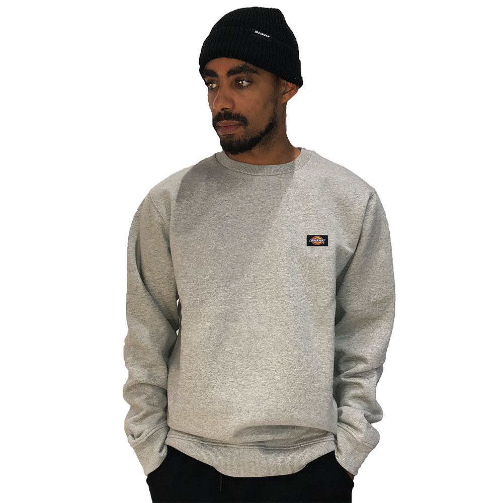 Sweat-Col-Rond-Dickies-Classique-Gris