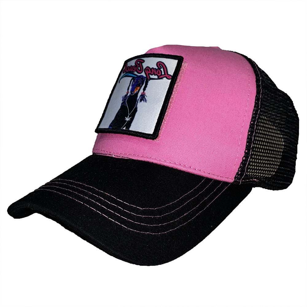 Casquette-Scratchys-Rose-Logo-Long-Beach