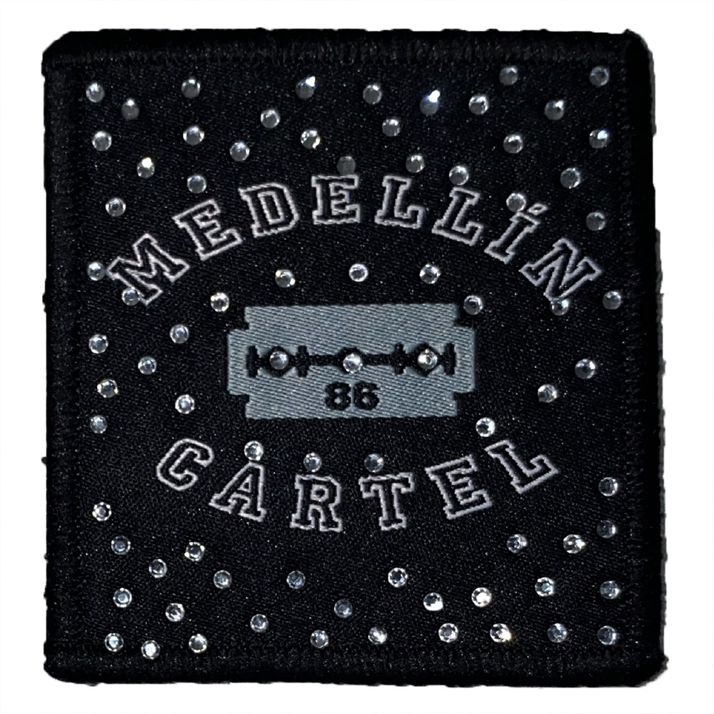 Patch-Medellin-Cartel-Cristaux-Interchangeable-Scratchys