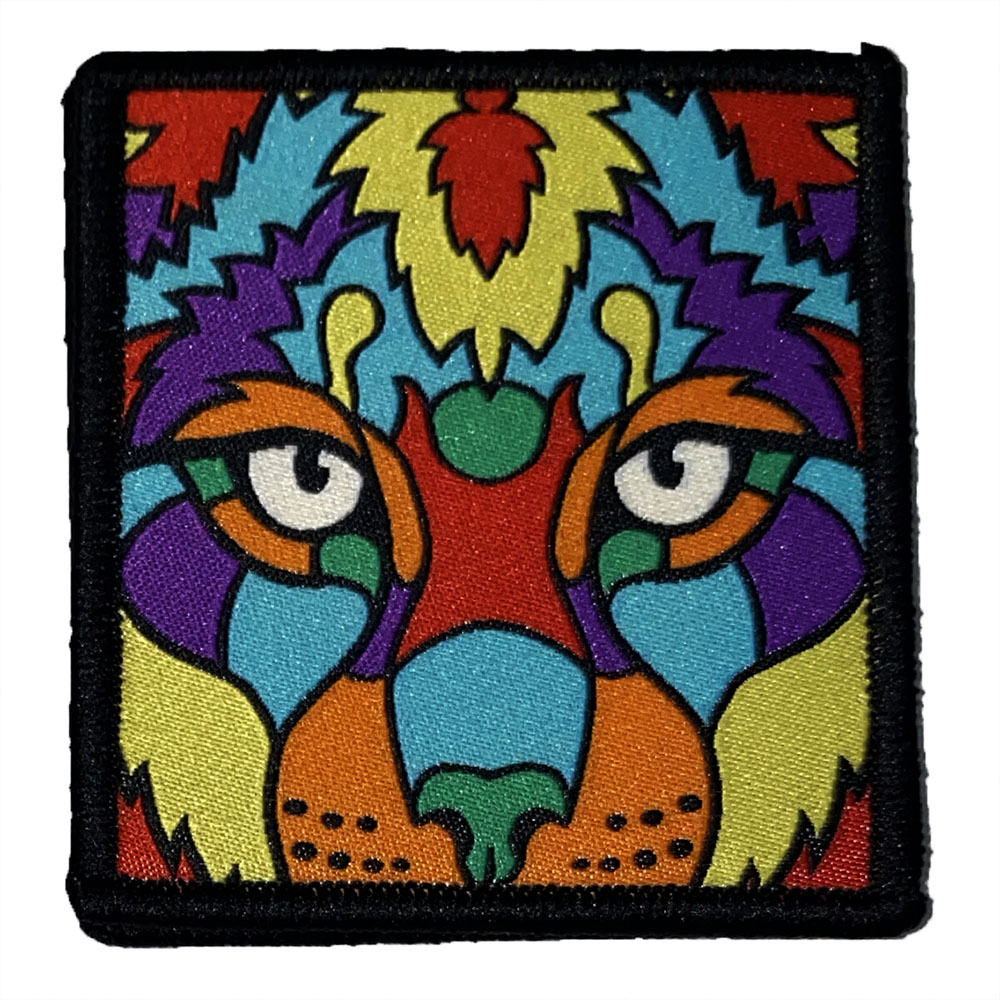 Patch-Tigre-Mosaïque-Interchangeable-Scratchys