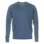 pull coronet blue chine homme teddy smith