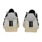 baskets diadora game l low used - blanc noir