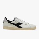 diadora baskets Game L low used - blanc noir