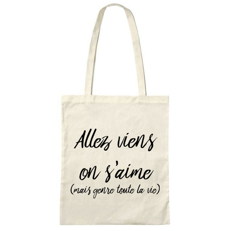 Tote bag - Viens on s\'aime