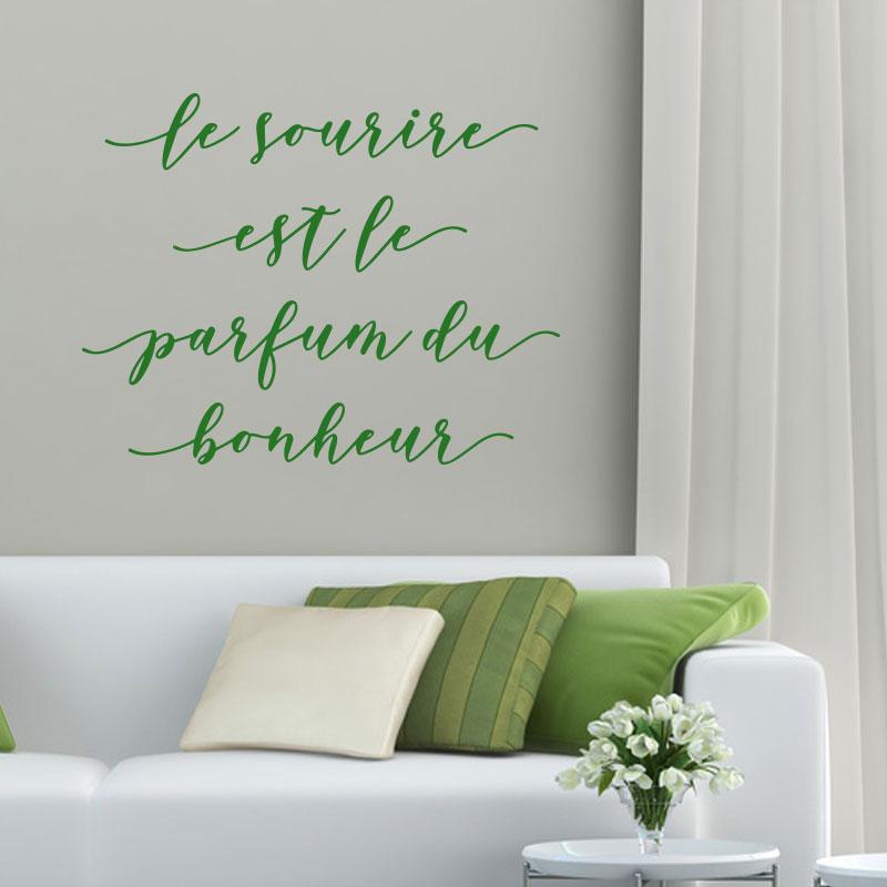 Sticker citation - Parfum du bonheur