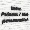 Prenom-Mot-personnalise-typo-caprica-Alu-noir