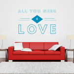 sticker-all-you-need-is-love-bleu