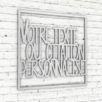cadre-texte-mural-personnalise-typo-photographs-alu-brossé