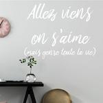 sticker-viens-on-saime-blanc - Copie