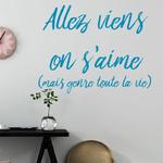 sticker-viens-on-saime-bleu