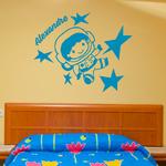 sticker-prenoms-astronaute-bleu