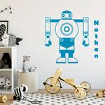 sticker-robot-prenom-bleu