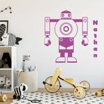 sticker-robot-prenom-violet