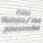 Prenom-Mot-personnalise-typo-ave-fedan-alu-brossé