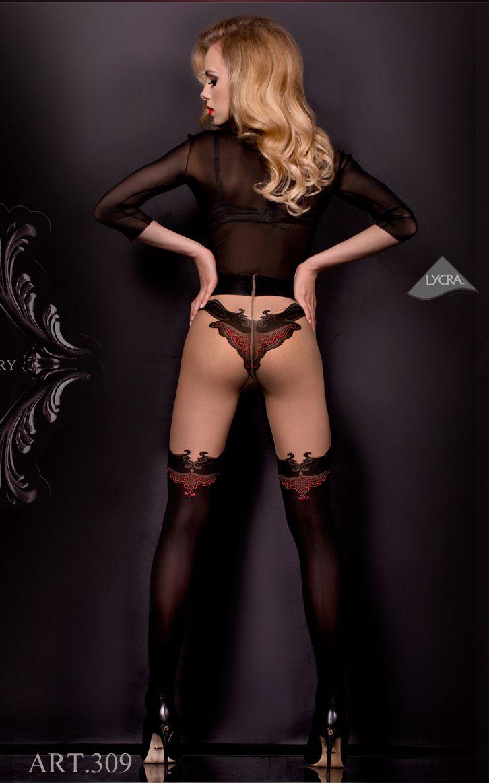 bl309brbb_collants-effet-bas-glamour-romantique-victorien-pin-up-la-bottega