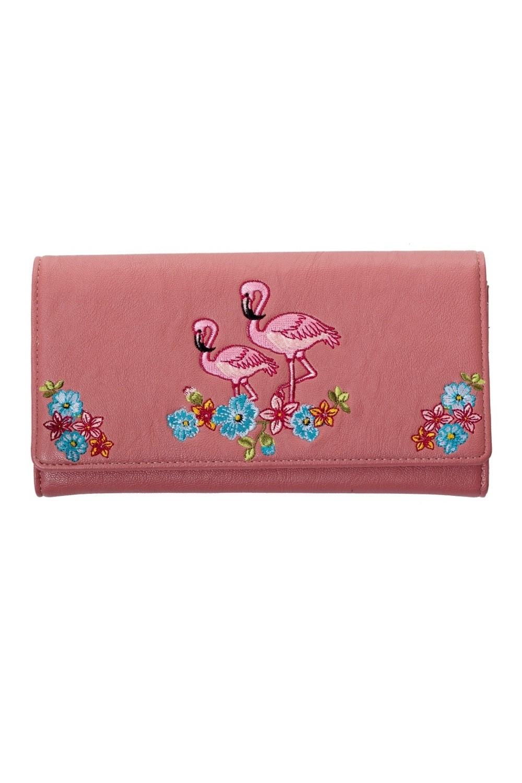 bnwbn1426p_porte_feuilles_cartes_monnaie_pin-up_50s_flamingo