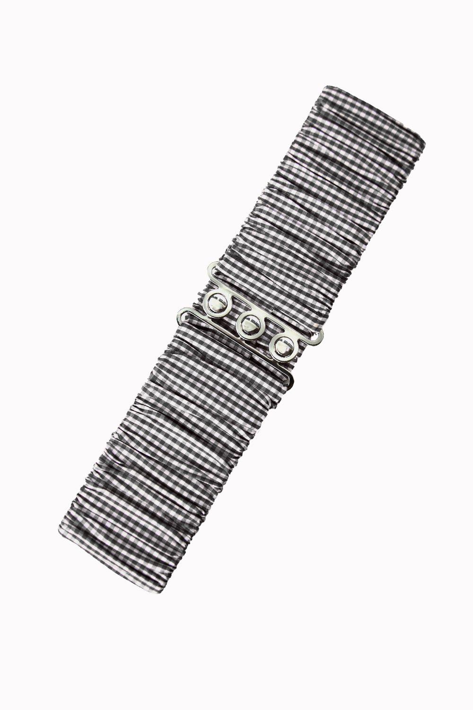 bnac2229b_ceinture-retro-pin-up-50-s-rockabilly-elastique-vichy-noir