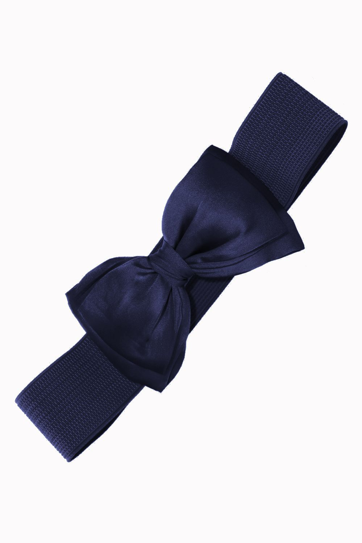 bnac2220nvy_ceinture-retro-pin-up-rockabilly-50-s-elastique-noeud-bleu-marine