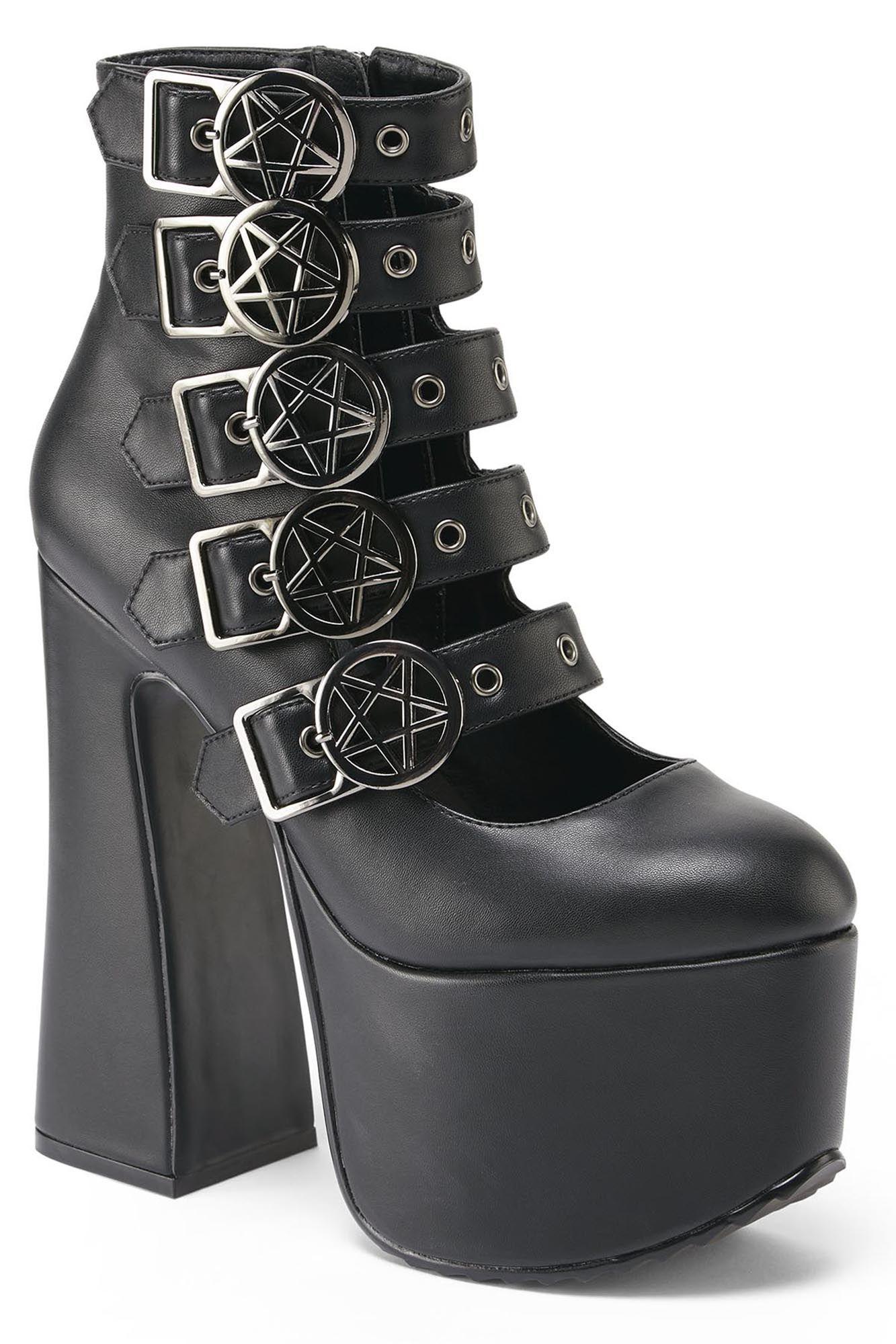 ks2306_chaussures-bottes-plateforme-gothique-glam-rock-burial-pentagramme
