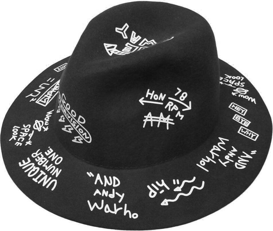 eae23155bl_chapeau-gothique-glam-rock-punk-graffiti