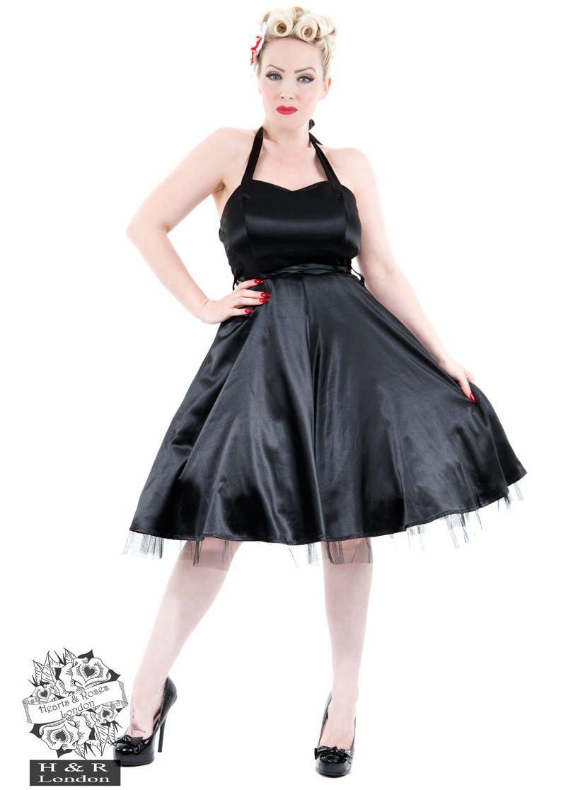 hh0211sb_robe-pin-up-retro-50-s-rockabilly-vintage-swing-dos-nu-satin-noir