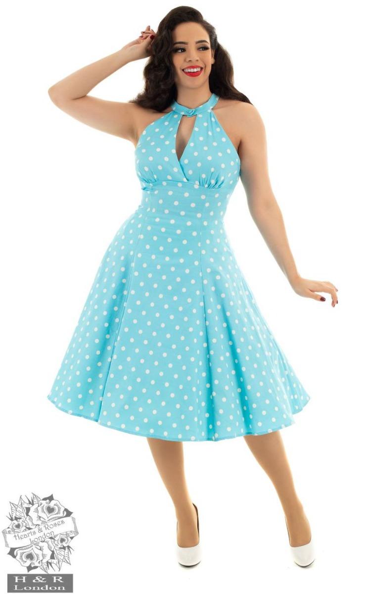hh154_robe-pin-up-retro-50-s-rockabilly-swing-dotty-polka-dot_1