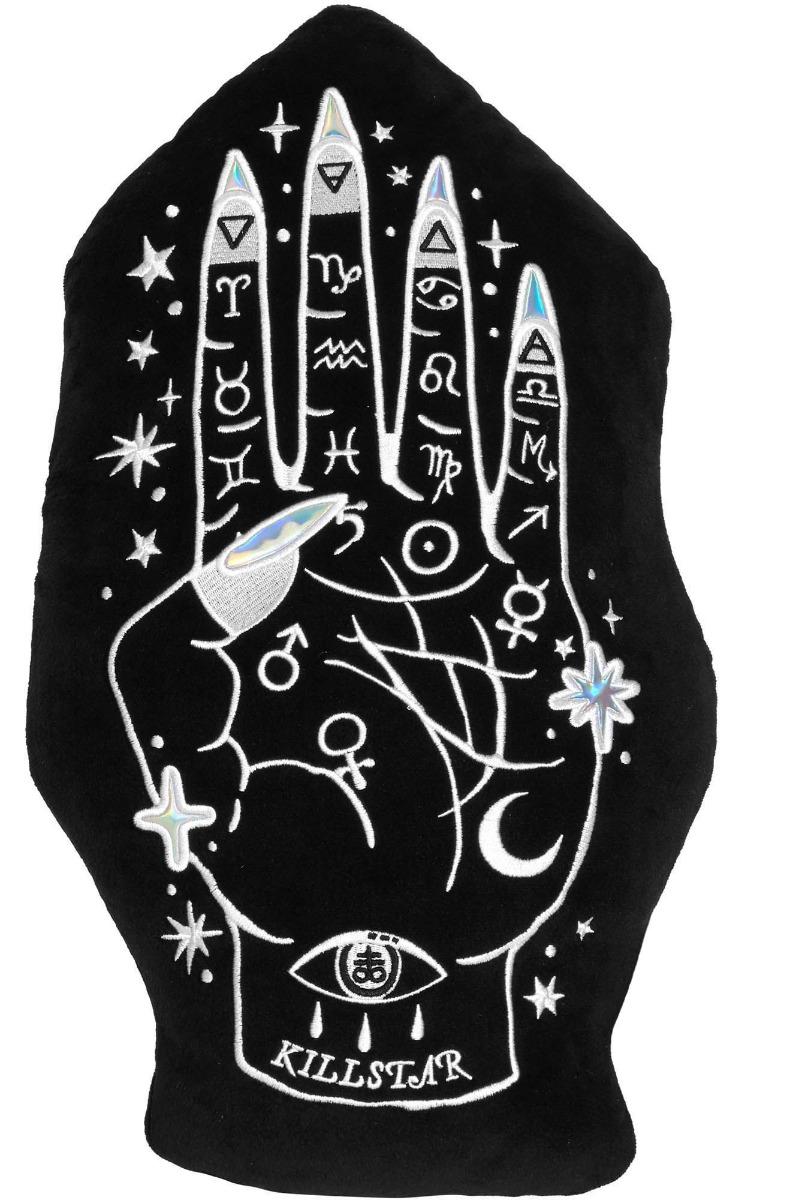 ks1009_coussin-peluche-gothique-palmistry-main-divinatoire