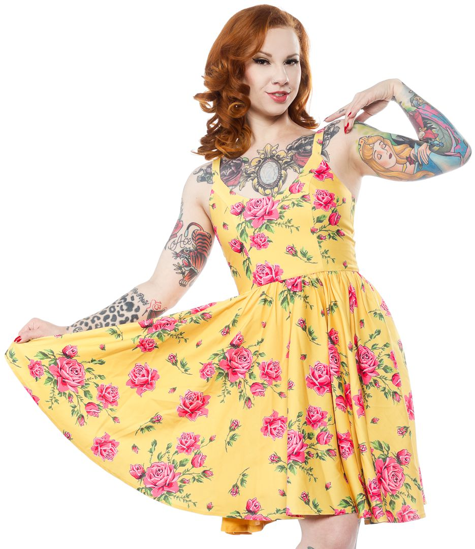 SPDR403_robe-pin-up-rockabilly-retro-antique-rose-sweets