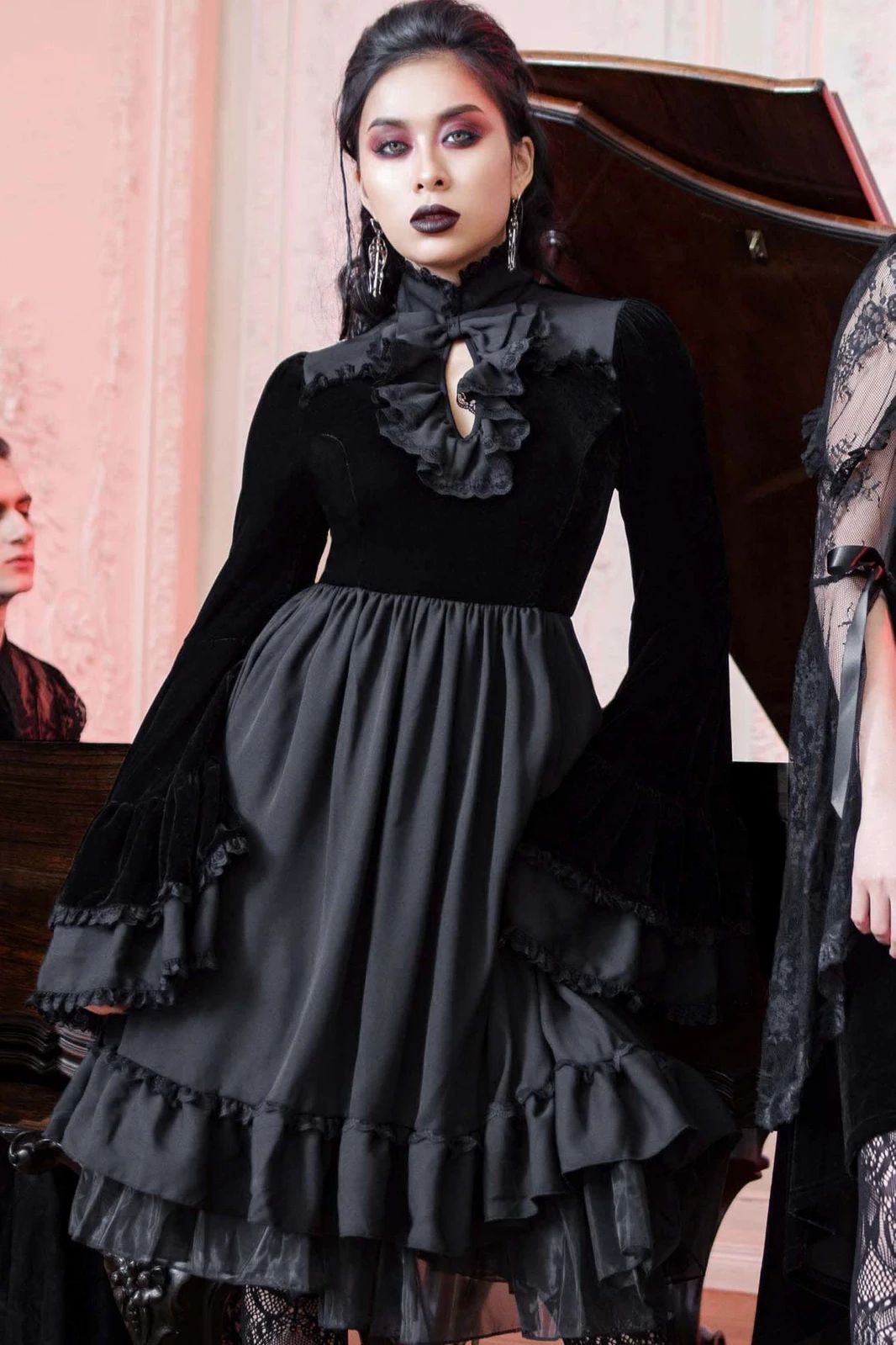 KS02968_mini-robe-gothique-glam-rock-killstar-lost-girl