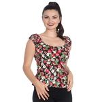 ps6632_top-tee-shirt-rockabilly-pin-up-retro-50-s-strawberry-sundae