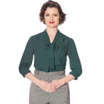 bnbl14030grn_chemisier-pin-up-retro-50-s-rockabilly-glam-chic-perfect-pussybow-vert