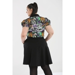 ps50069gbbb_mini-jupe_gothique_psychobilly_gothabilly_miss-miffet-vert