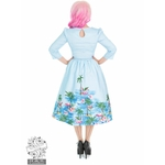 hh3736b_robe-pin-up-retro-50-s-rockabilly-vintage-swing-playa-flamingo-flamant