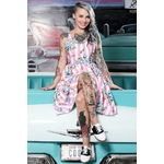 spdr399b_robe-pin-up-rockabilly-retro-carousel-roses-sweets