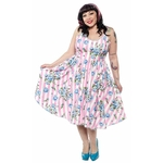 spdr399bb_robe-pin-up-rockabilly-retro-carousel-roses-sweets
