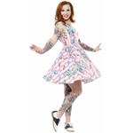 spdr399bbb_robe-pin-up-rockabilly-retro-carousel-roses-sweets