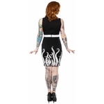 spdr416bbb_robe-crayon-pin-up-rockabilly-gothabilly-glam-rock-tentacles-octopus