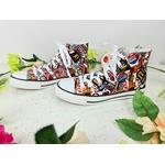 FPSHO006GRAbbb_tennis-baskets-sneakers-pinup-50-s-rockabilly-retro-sandy-graffitis
