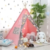 Tipi Fille   Rose Doux Lapin