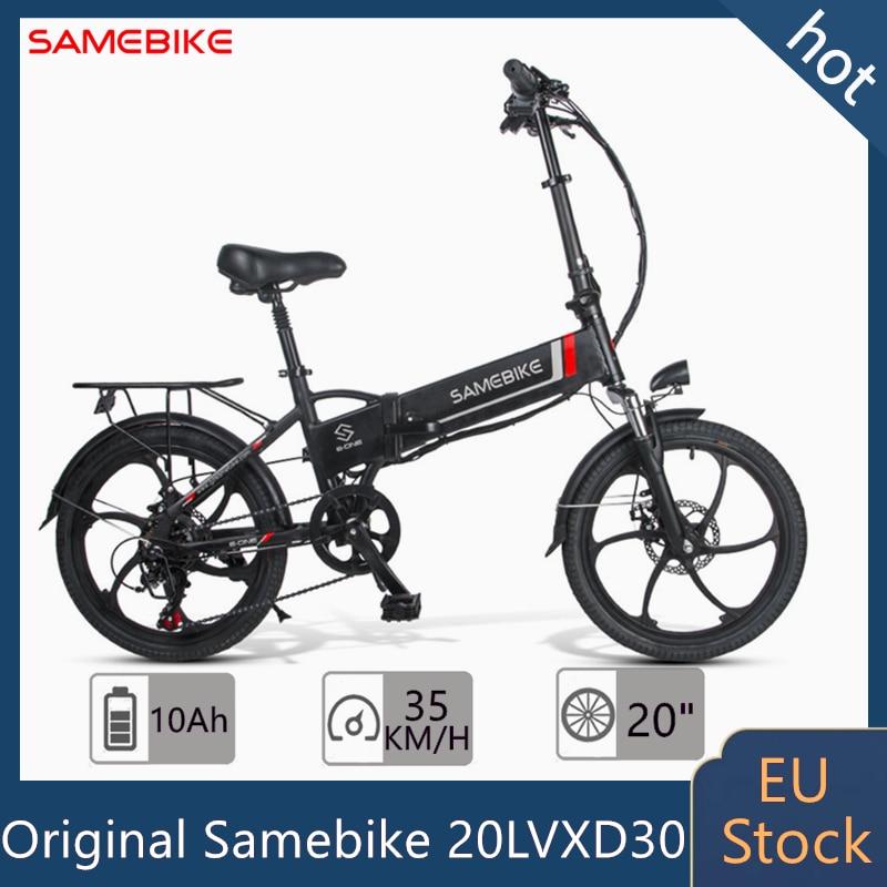 Ue-Stock-Samebike-20LVXD30-v-lo-lectrique-350W-48V10-4AH-20-pouces-pneu-v-lo-lectrique