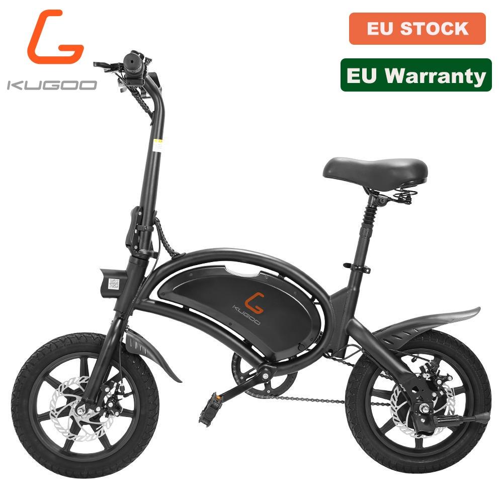New-stock-de-l-ue-KUGOO-B2-v-lo-lectrique-400w-48V-7-5Ah-45KM