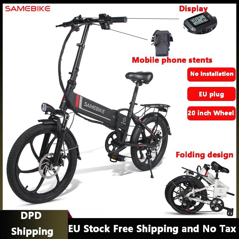 Samebike-20LVXD30-pliant-vtt-v-lo-lectrique-20-pouces-pneu-vitesse-v-lo-lectrique-48V-350W