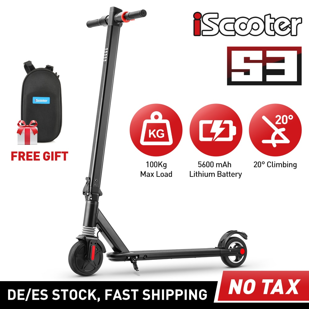 Enfants-Scooter-lectrique-Smart-Kick-Scooter-lectrique-enfants-6-5-pouces-5-8Ah-pliant-deux-roues