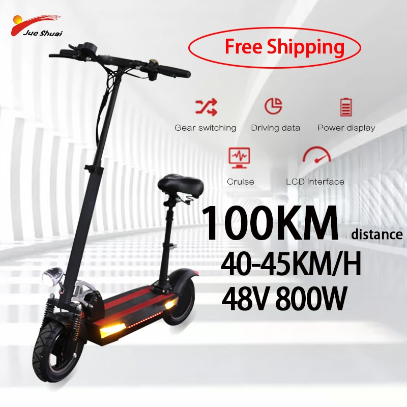 48V-800W-Scooter-lectrique-longue-Distance-planche-roulettes-lectrique-10-pouces-pliable-Escooter-adultes-Escooter-avec