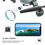 Visuo-XS816-WiFi-FPV-RC-Drone-4-K-cam-ra-d-bit-optique-720-P-double