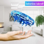 Mini-h-licopt-re-UFO-RC-Drone-infrarouge-main-d-tection-avion-mod-le-lectronique-quadrirotor